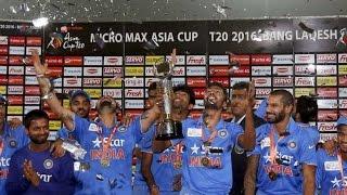 India vs Bangladesh final T20 highlights - Asia Cup 2016