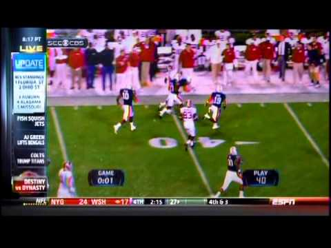 ESPN SportsCenter - Iron Bowl 2013 - Time & History Segment