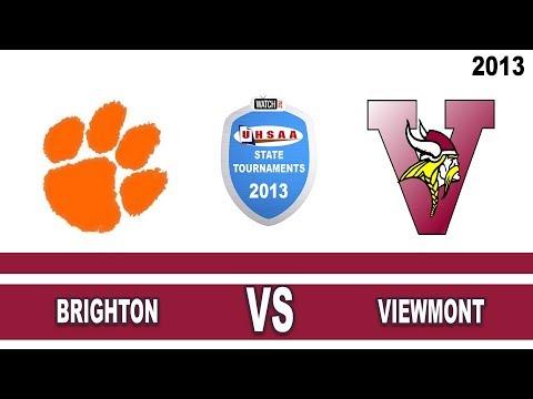 2013 5A Girls Soccer finals: Brighton High School vs. Viewmont High School Utah