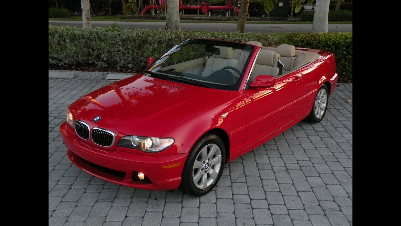 05 Bmw 325ci Convertible Red For Sale Auto Haus Of Fort
