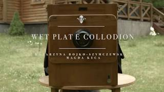 Wet plate collodion making