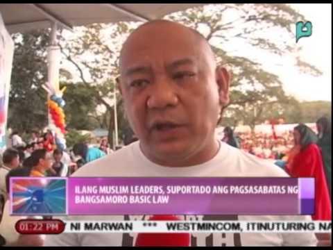 News@1: Ilang Muslim leaders, suportado ang pagsasabatas ng Bangsamoro Basic Law