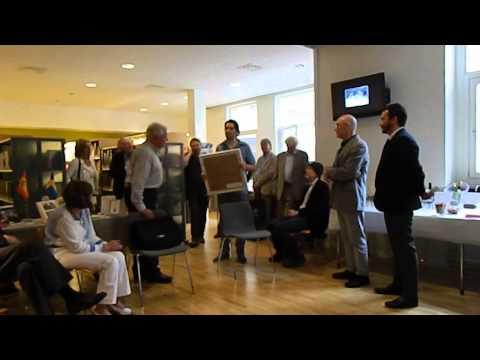 Instituto Cervantes de Estocolmo: ceremonia de homenaje al escritor y traductor Francisco Uriz (III)
