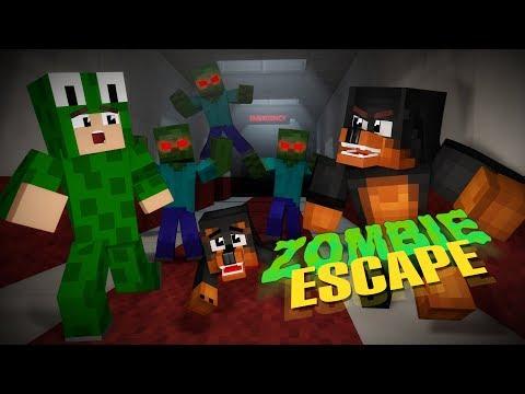 Minecraft NIGHTMARE - ZOMBIE INFESTED HOSPITAL ESCAPE CHALLENGE - w/ Little Lizard