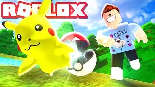 Roblox Adventures / Pokemon Brick Bronze / My First Pokemon!
