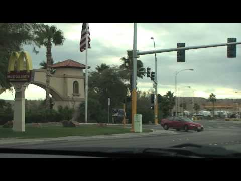Driving through Laughlin, Nevada, USA
