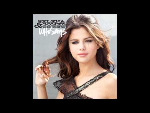 Selena Gomez-who Says (speed Up) video