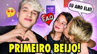 """""""FAQ AMOROSO FT. LUARA E TITI!"""" (COMO FOI O PRIMEIRO BEIJO??)"""