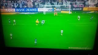 Gol do Cruzeiro 1x0 Corinthians