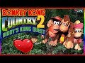 🔴 LIVE - Donkey Kong Country 2│Diddy's Kong Quest │Aprendendo !