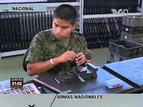 TVC Noticias recorre fábrica de armas del ejército mexicano