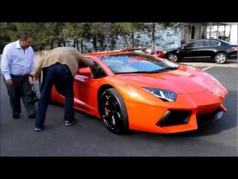 Lamborghini Owner V.S. Ferrari Owner!! (Aventador and F430 16M)