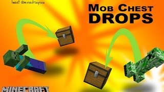 Mobs Chests Drops like in EverQuest  in Minecraft 1.8