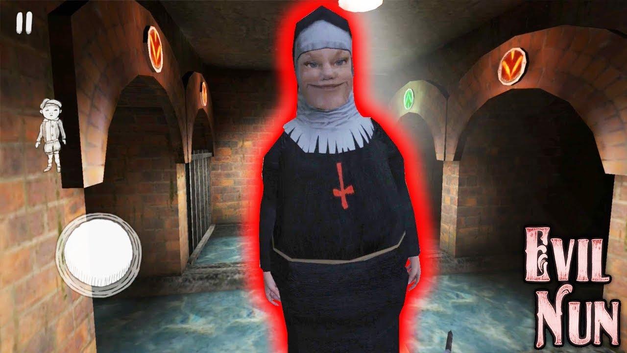 Супер Обновление! Новая Подружка Монахини + Катакомбы! - Evil Nun 1.3.0 | Монахиня