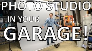Build a Professional Photo Studio in your Garage!