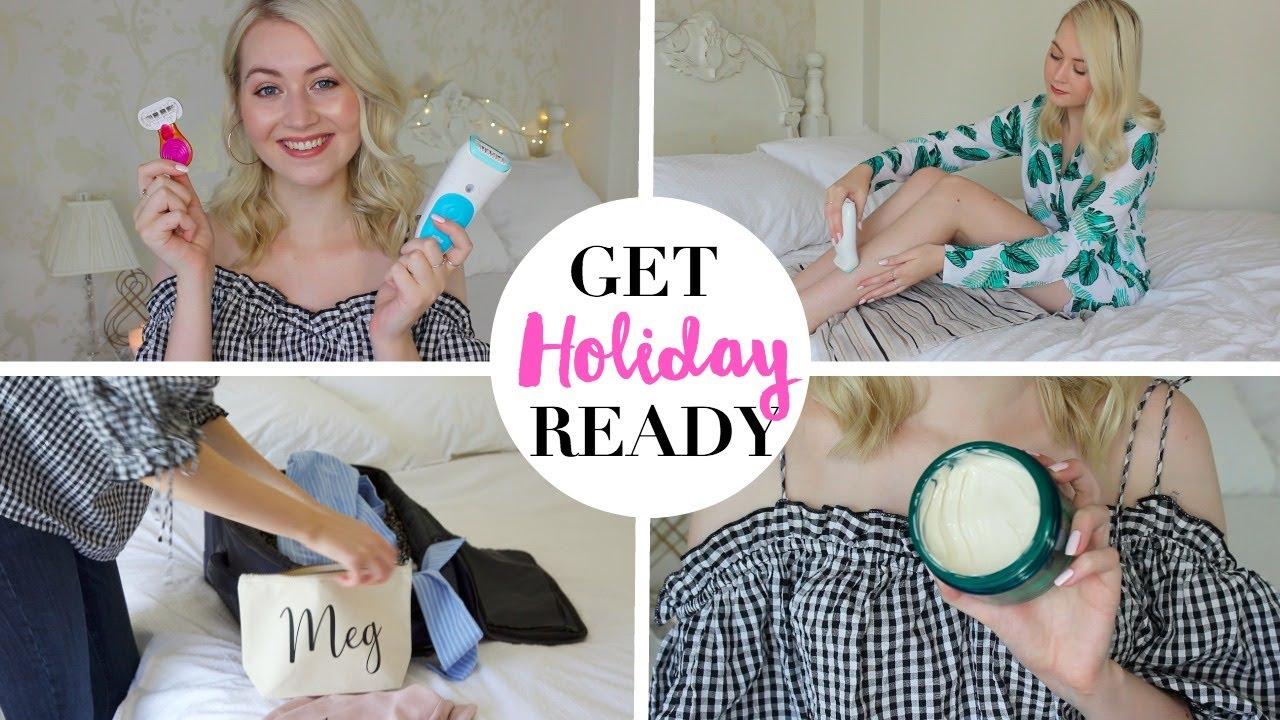 My Holiday/Vacation Beauty Routine | Meg Says AD