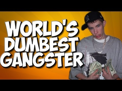 GTA 5: WORLD'S DUMBEST GANGSTER!! RACER TROLLING!