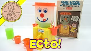 Mr Kool Beverage Dispenser With Hi-C Ecto Coolers - Ectoplasm Party!