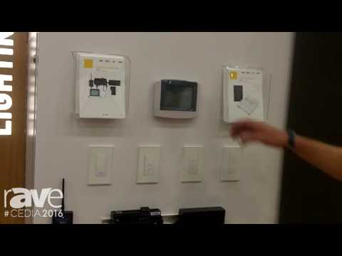 CEDIA 2016: Vantage Demos RadioLink EasyTouch II Keypad and Wire-Free Thermostat
