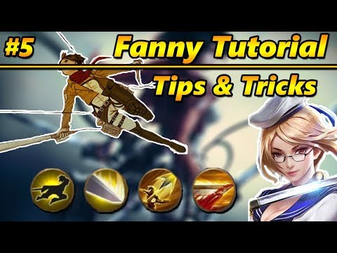 Mobile Legends Tutorial: FANNY Tips & Tricks #5