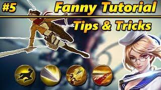 Mobile Legends Tutorial: FANNY Tips & Tricks #5