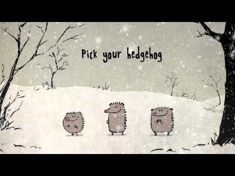 Singing Christmas Hedgehogs from Bird Box Studio