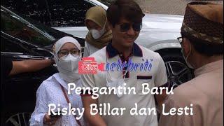Download lagu Pengantin Baru Pasangan Rizky Billar dan Lesti Hadiri Syukuran 200 Episode JWB 2