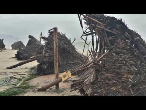 Тайфун Дамри. ��чанг.  Hurricane Damrey Nha Trang. 04/11/17