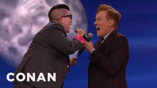 Lea DeLaria & Conan Scat Some Jazz  - CONAN on TBS