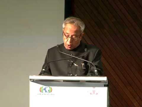 Pravasi Bharathiya Divas- Valedictory Function- Indian President Shri.Pranab Mukherjee's Speech