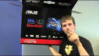 ASUS VG278HE 144Hz 3D LED LCD Monitor Unboxing & First Look Linus Tech Tips