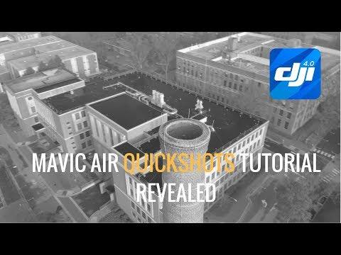 Mavic Air | Quickshots Tutorial