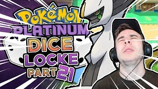 TEAM GALLACTIC HAS AN ARCEUS! - Pokémon Platinum Randomized Dicelocke! Part 21