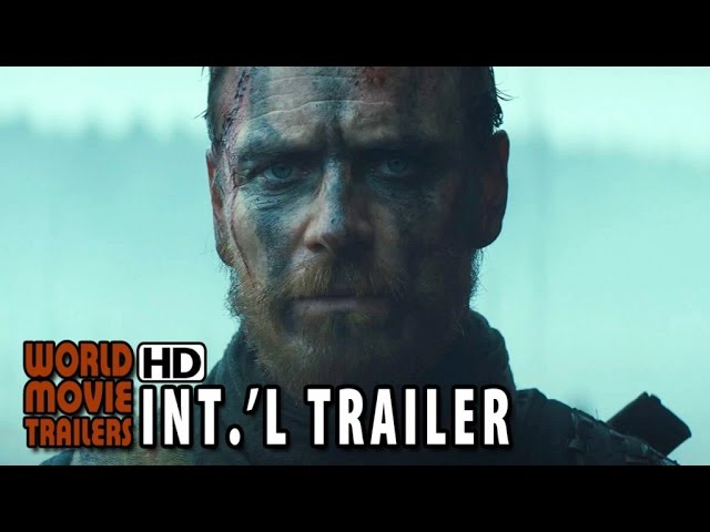 MACBETH Official international Trailer (2015) - Michael Fassbender HD