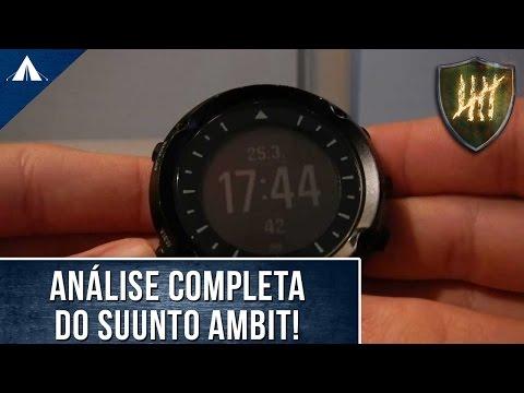 Review: Relógio Suunto Ambit