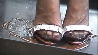 First Sticky heels  Part 1