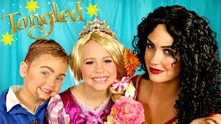 Tangled Makeup and Costumes Rapunzel, Mother Gothel, and Flynn Rider
