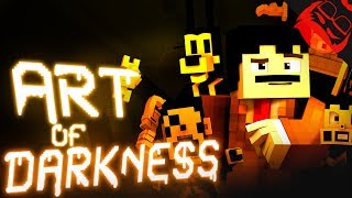 ART OF DARKNESS | Bendy and the Ink Machine Minecraft Music Video by W Labs Animation