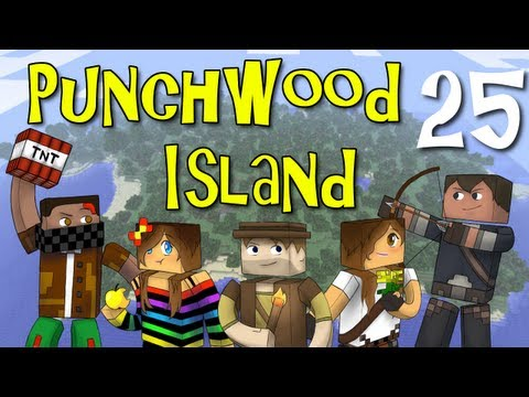 "Punchwood Island E25 ""Cow Quest"" (Minecraft Family Survival)"