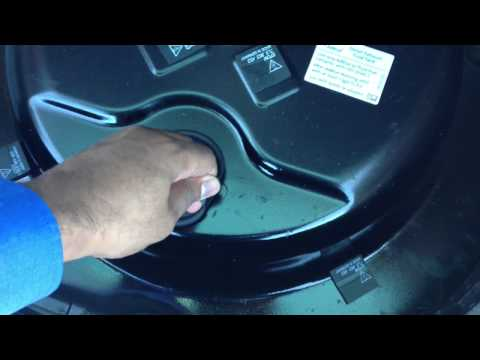 How to refill the AdBlue tank on a 2012 VW Touareg TDI