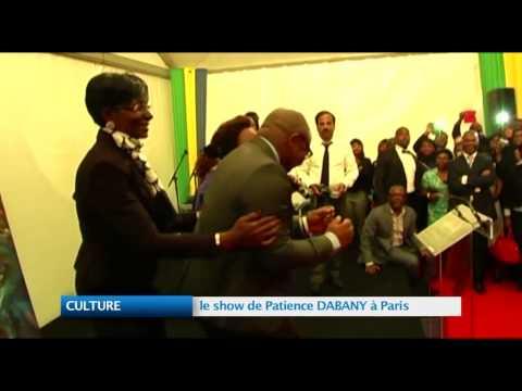 CULTURE : le show de Patience DABANY à Paris