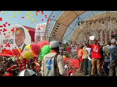 Voters flock to polls in Mozambique's double election