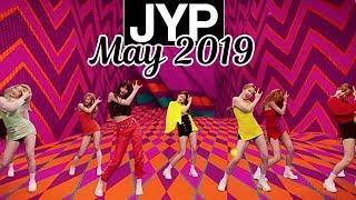 [TOP 64] Most Viewed JYP Kpop MVs [May 2019]