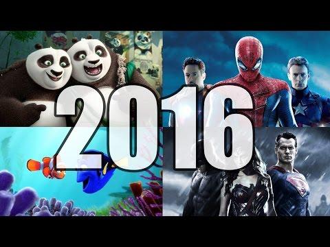 ¡Las Películas Más ESPERADAS Del 2016!