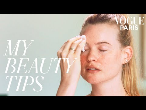 Beauty Tutorial: How to wake up your skin in the morning with Behati Prinsloo