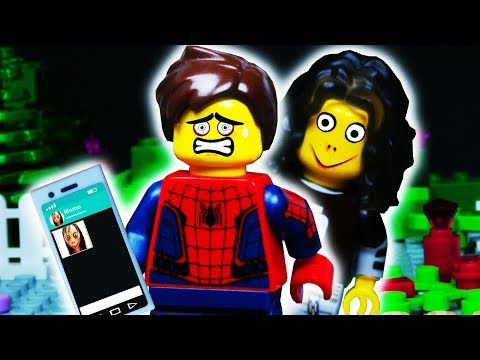 MOMO Whatsapp LEGO SPIDER MAN Prank / Stop Motion Animation