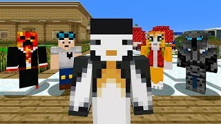 ADDING YOUTUBERS INTO MY MINECRAFT WORLD!!