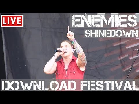 Shinedown - Enemies Live in [HD] @ Download Festival 2012