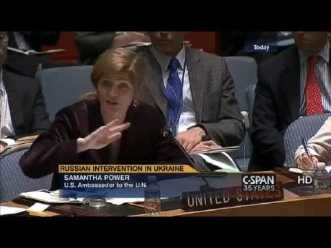 U.S. points out Russia's lies during UN Security meeting on May 2 called by Russia.