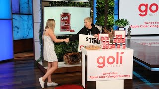 Goli on Ellen! 'Truth or Dare'